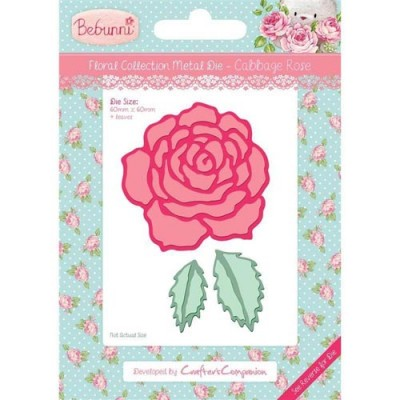 Crafters Companion Bebunni Die - Cabbage Rose