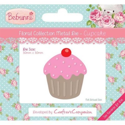 Crafters Companion Bebunni Die - Cupcake