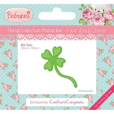 Crafters Companion Bebunni Die - Four Leaf Clover
