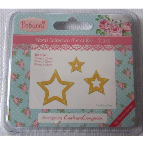 Crafters Companion Bebunni Die - Stars