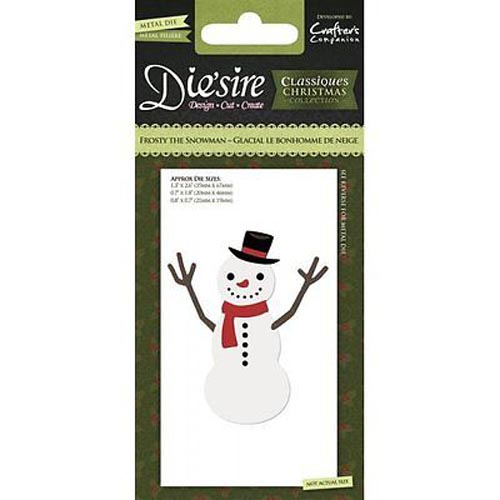 Crafters Companion Die'sire Christmas Classiques - Frosty the Snowman