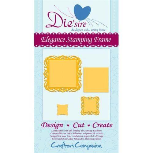 Crafters Companion Die'sire Decorative Die - Elegance Frame Die