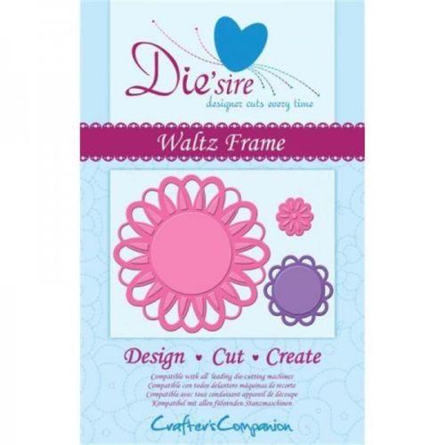 Crafters Companion Die'sire Decorative Die - Waltz Frame Die
