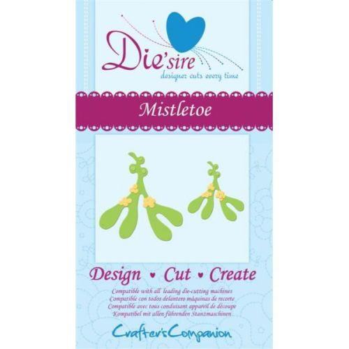Crafters Companion Die'sire Dies - Mistletoe Die