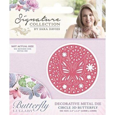 Crafters Companion Signature Collection - Circle 3d Butterfly