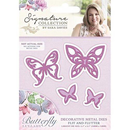 Crafters Companion Signature Collection - Flit and Flutter