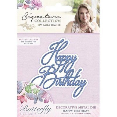 Crafters Companion Signature Collection - Happy Birthday