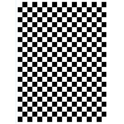 "Darice 4.23"" x 5.75"" Embossing Folder - Checkered"