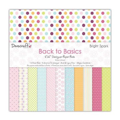Dovecraft Bright Spark 6x6 Paper Pack