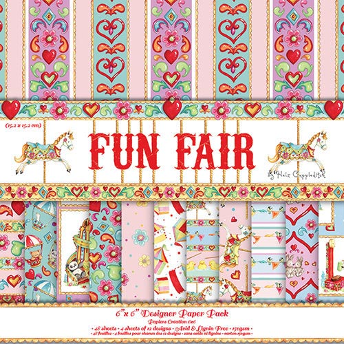 Dovecraft Fun Fair 6x6 Paper Pack