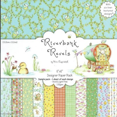 Dovecraft Riverbank Revels 6x6 Paper Pack