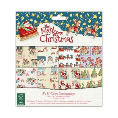 Dovecraft The Night Before Christmas 8x8 Decoupage Pad