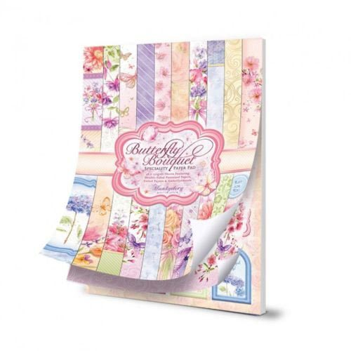 Hunkydory Butterfly Bouquet - A4 Speciality Paper Pad