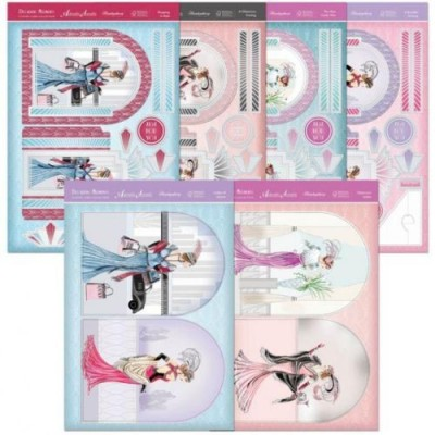 Hunkydory Decadent Moments Window Card Kit