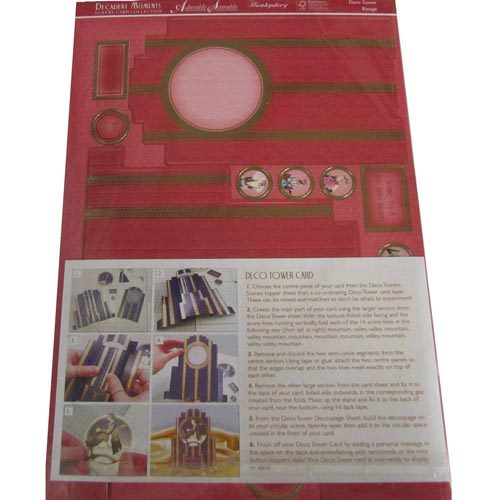 HUNKYDORY Decadent Moments Tower Card Kit