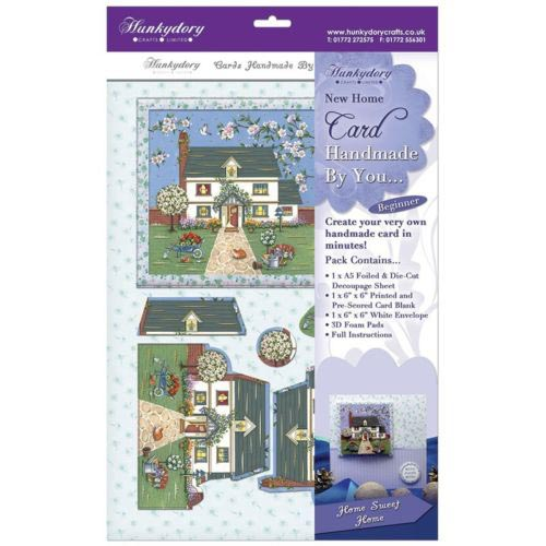 HUNKYDORY HOME SWEET HOME 6x6 CARD KIT