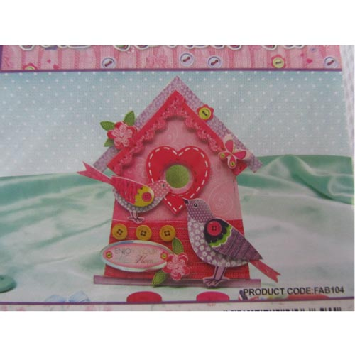 Hunkydory Faberdashery - Collage Shaped Cards Kit