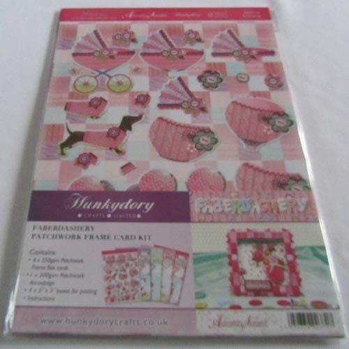 Hunkydory Faberdashery - Patchwork Frame Card Kit
