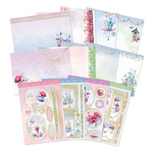 Hunkydory Floral Breeze Deluxe Card Collection Kit