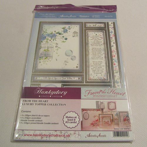 Hunkydory From The Heart Luxury Topper Collection