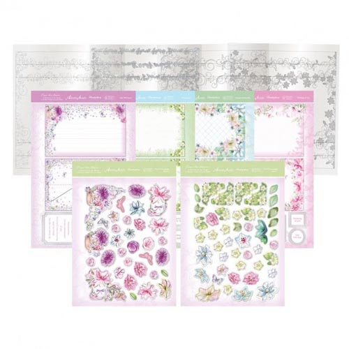 Hunkydory From the Heart - Acetate Window Box Card Kit