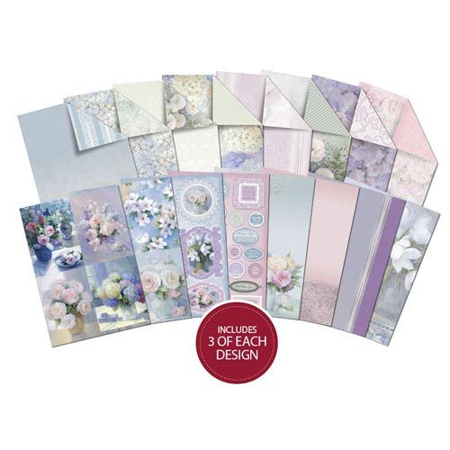 Hunkydory Frosted Florals - A4 Speciality Paper Pad