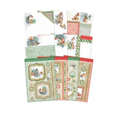 Hunkydory Little Robin Redbreast Deluxe Card Collection