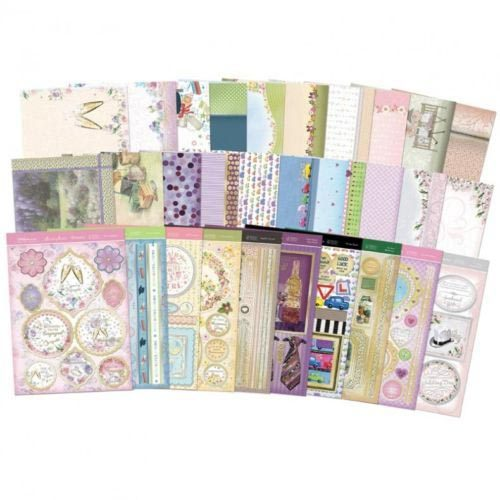 Hunkydory Milestones - Luxury Card Collection 30 x A4 Sheets