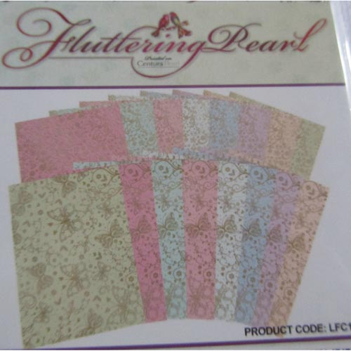 Hunkydory Pearl Shimmer Premium Foiled Cardstock 16 Sheets