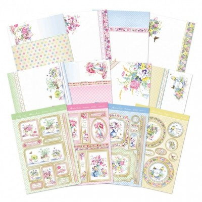 Hunkydory Pretty Posies Deluxe Card Collection