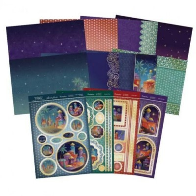 Hunkydory Road To Bethlehem Deluxe Card Collection
