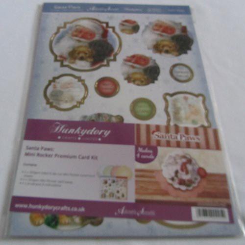 Hunkydory Santa Paws Mini Rocker Premium Card Kit