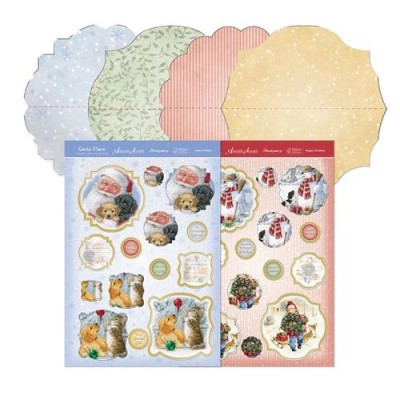 Hunkydory Santa Paws Mini Rocker Premium Card Kit
