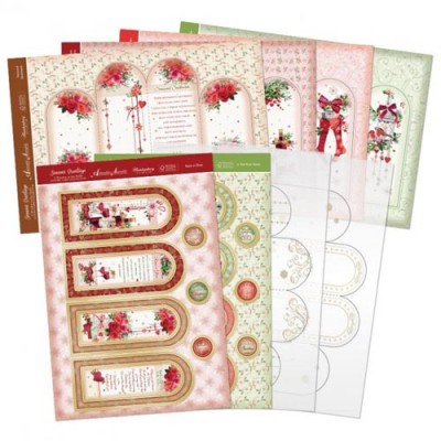 Hunkydory Seasons Greetings Acetate Arch Window Kit
