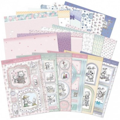 Hunkydory Smudge & Mitten Luxury Topper Kit