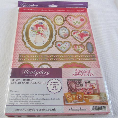 Hunkydory Special Moments Luxury Card Collection