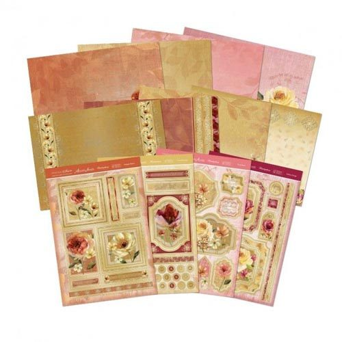 Hunkydory Vintage Blossom Deluxe Card Collection