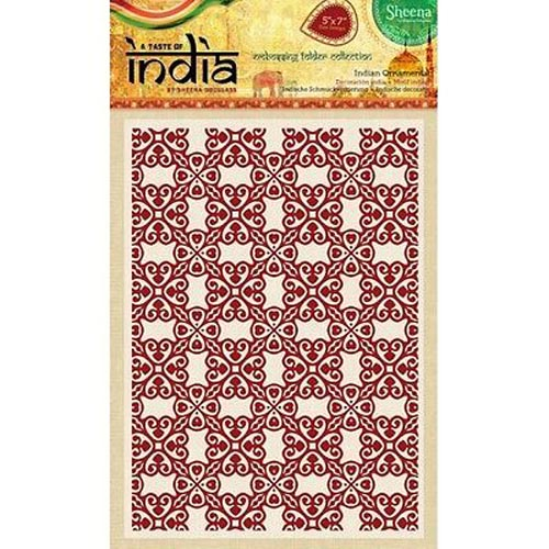 "Sheena Douglass Embossing Folders 5"" x 7"" 