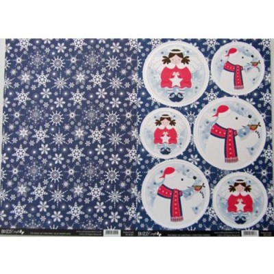 BuzzCraft The Magc of Christmas Collection - Christmas Friends 2 sheet set