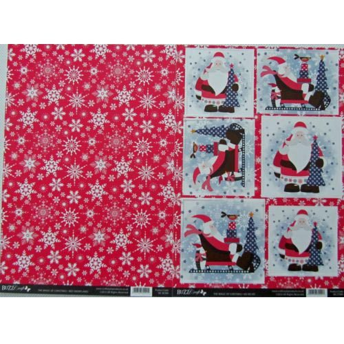 BuzzCraft The Magic Of Christmas Collection - Ho Ho Ho 2 Sheet Set