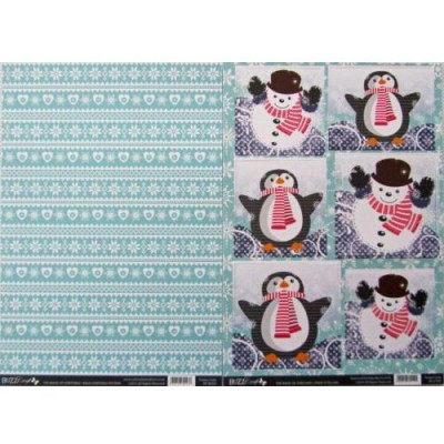 BuzzCraft The Magic of Christmas Collection - Snow Is Falling 2 Sheet set
