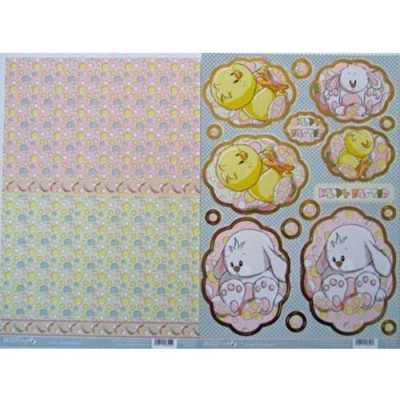 Buzzcraft Easter - Easter Bunny 2 Sheet set