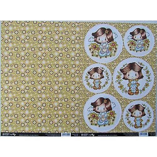 Buzzcraft Friends In Bloom - My Little Friends 2 Sheet Set
