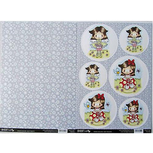 Buzzcraft Friends In Bloom - Sweet Whispers 2 Sheet Set