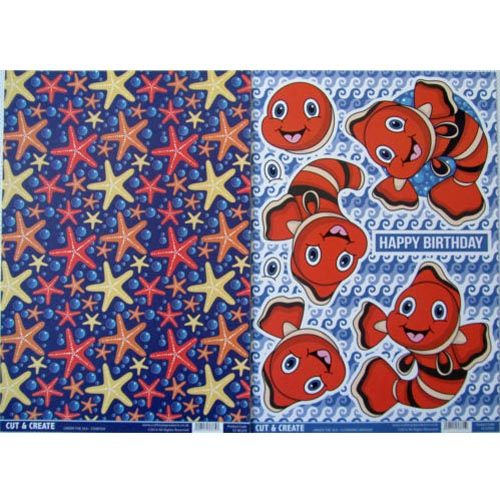 Craftstyle Products - Cut & Create - UNDER THE SEA - Clowning Around