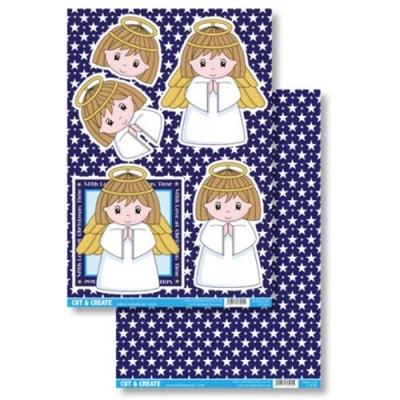 Craftstyle Products Cut & Create - Winter Wonderland - Angel