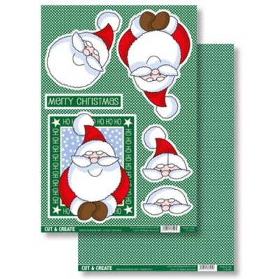 Craftstyle Products Cut & Create - Winter Wonderland - Father Christmas