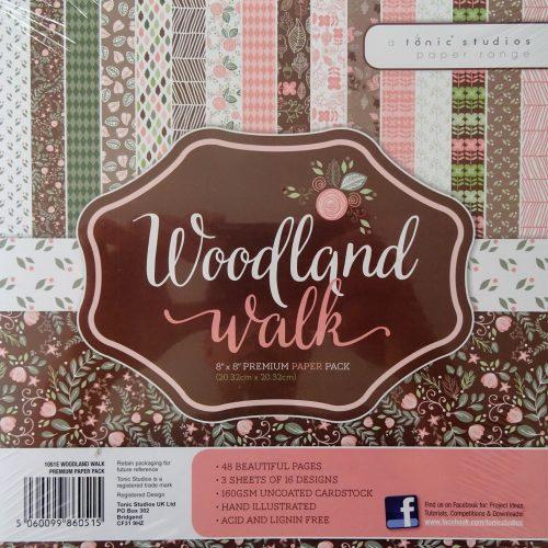 Tonic Studios - 8x8 Premium Paper Pack - Woodland Walk - 1051E
