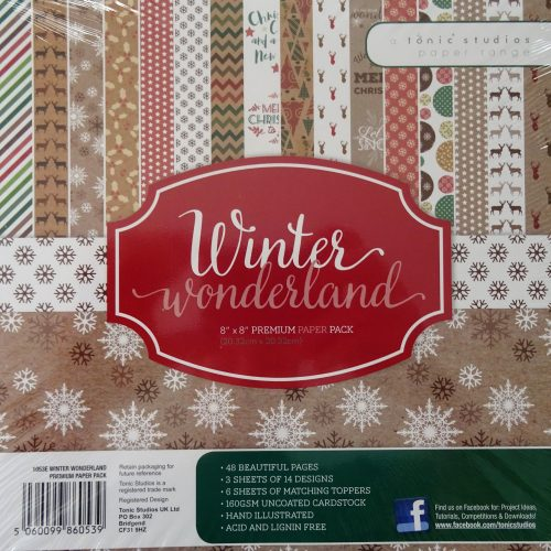 Tonic Studios - Winter Wonderland Premium Paper Pack - 1053e