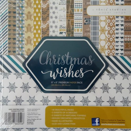 Tonic Studios - Christmas Wishes Premium Paper Pack - 1053e